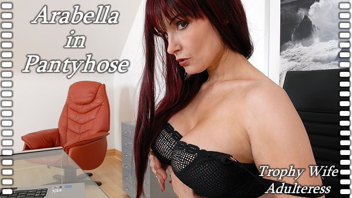 Arabella - Arabella In Pantyhose (Foot Fetish / Latex) [SiteRip] - Lady-Sonia.com