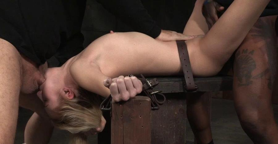 Odette Delacroix - Pale 5 foot pixie Odette Delacroix belt bound down and roughly fucked by giant black cock! (BDSM / Bondage) [HD 720p] - SexuallyBroken.com