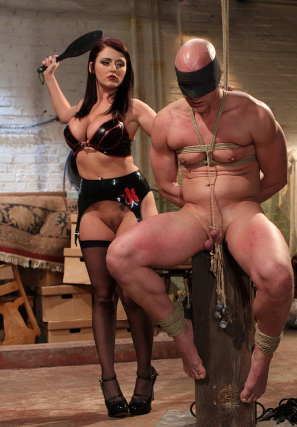 Chad Rock and Sophie Dee - Mistress Sophie Dee owns your cock! (Femdom / BDSM / Bondage) [HD] - Kink.com/DivineBitches.com