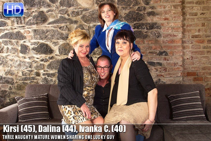 Kirsi (45), Dalina (44), Ivanka C. (40) - Mat-prof group003 (Mature / Group) [HD 720p] - Mature.nl