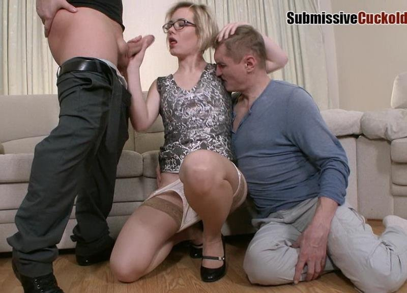 Mistress Dayana - Wife With Glasses Fuck In Ass (Femdom / Cuckold) [HD] - Submissivecuckolds.com