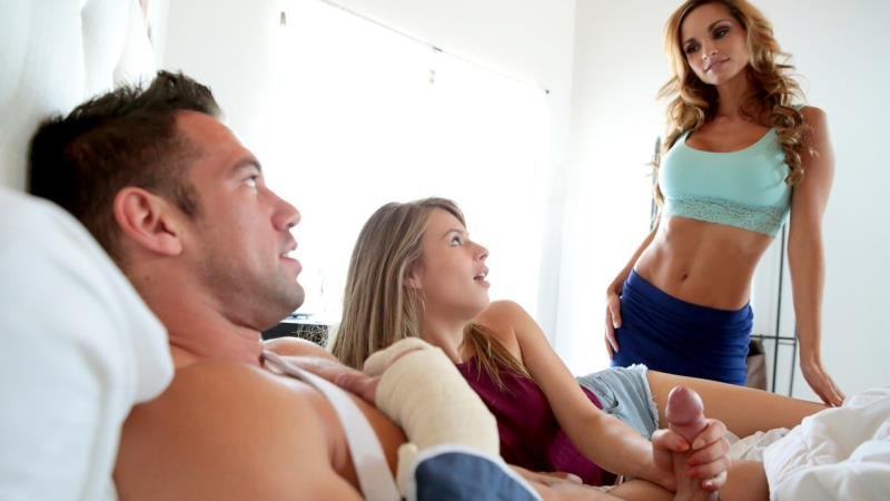 Ashley Sinclair, Jillian Janson - Sweet Release (Hardcore / Milf) [SD] - MomsTeachSex.com/NubilesNetwork.com