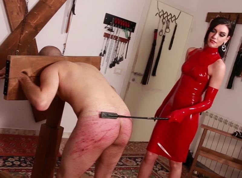 Mistress Iside - Red Harsh Whipping / The Rat Bastards (Femdom / Spanking) [FullHD] - MistressIside.com