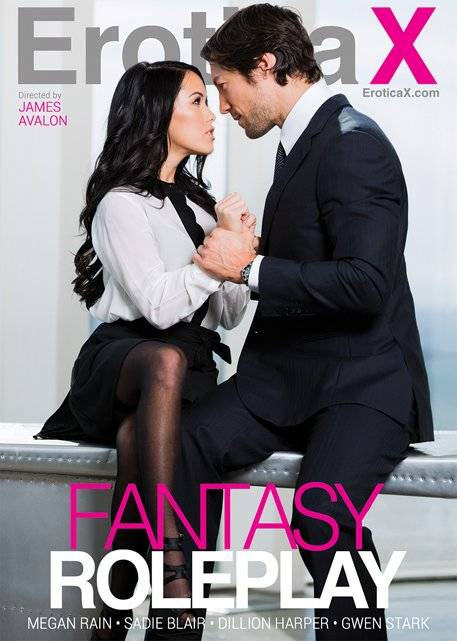 Megan Rain, Sadie Blair, Dillion Harper, Gwen Stark - Fantasy Roleplay (All Sex / Gonzo) [WEBRip/SD 540p] - Erotica X