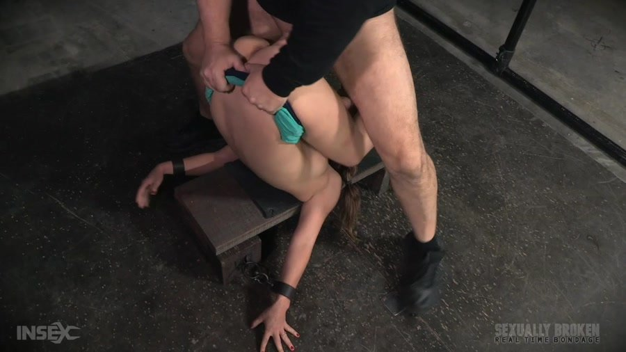 Devilynne - Final part of Devilynne's BaRS show with epic dicking down in strict piledriver bondage! (BDSM / Domination) [HD 720p] - SexuallyBroken.com