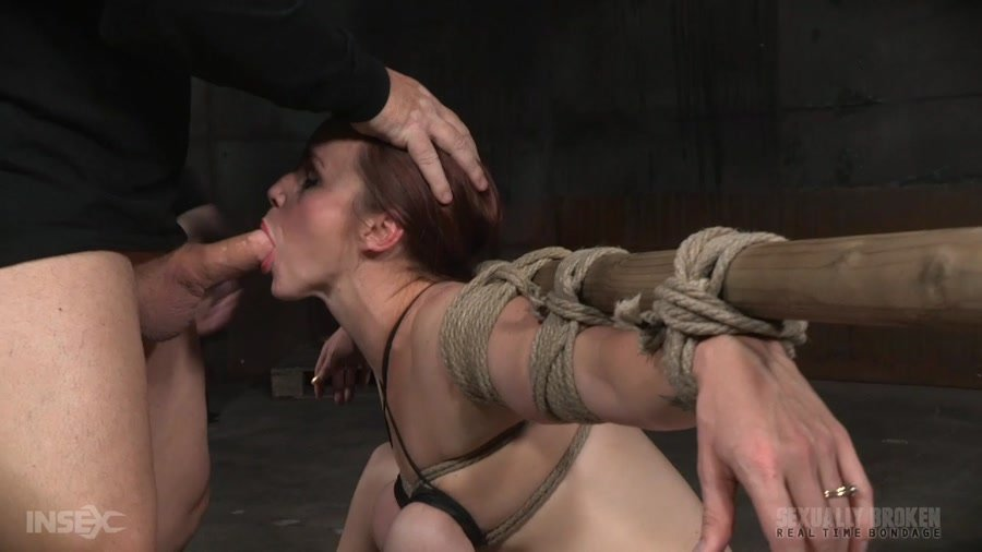 Bella Rossi - Busty Bella Rossi BaRS show with epic BBC deepthroat, tited tits and strict challenging bondage! (BDSM / Bondage) [HD 720p] - SexuallyBroken.com