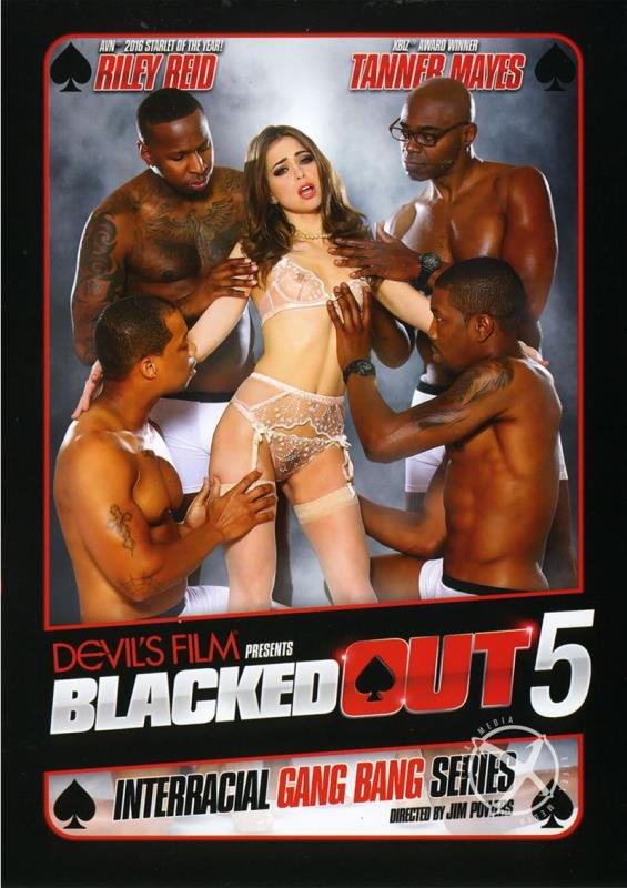 Riley Reid, Tanner Mayes - Blacked Out 5 (Gangbang / Anal) [WEBRip/FullHD 1080p] - Devils Film