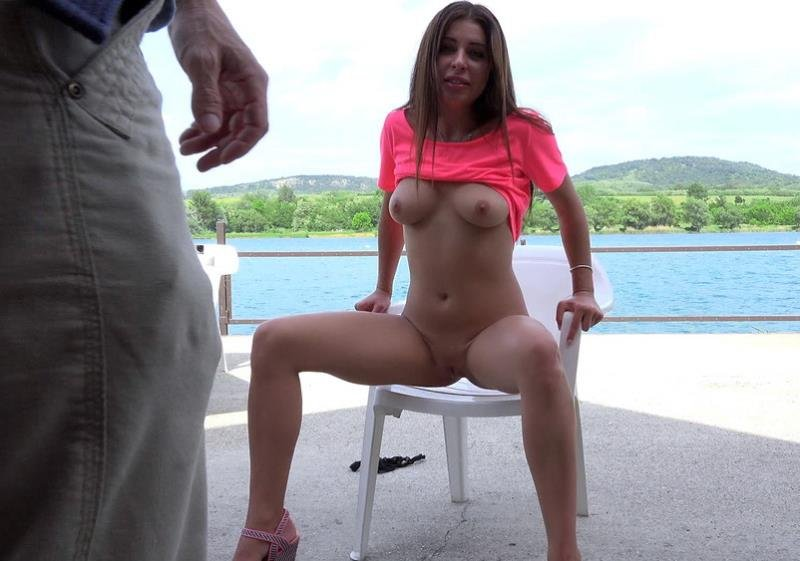Ally aka Ally Breelsen - Russian Brunettes Sexy Mouth (Doggystyle / Missionary) [SD] - PublicPickUps.com/Mofos.com
