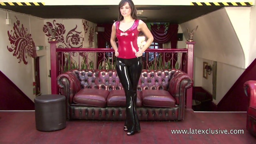 Jerri - Red Latex Top (Ruber / Solo) [HD 720p] - Latexclusive.com