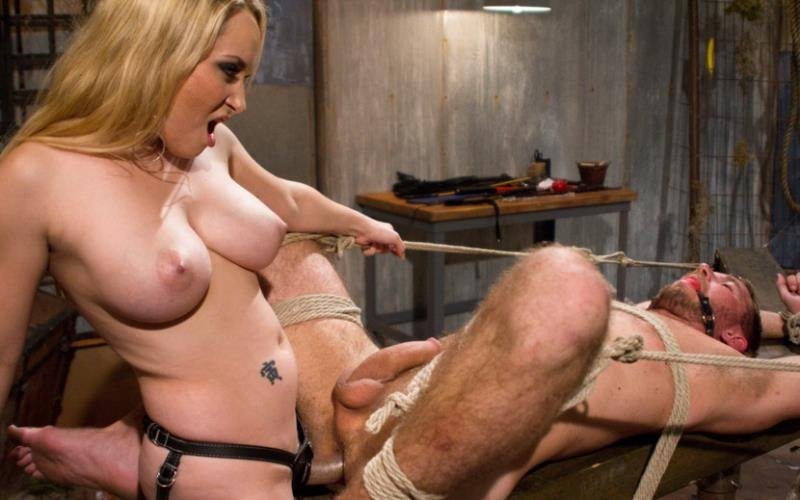 Aiden Starr and Drake Temple - Breaking Bad: Episode 3 (BDSM / Bondage / Domination) [HD] - DivineBitches.com/Kink.com