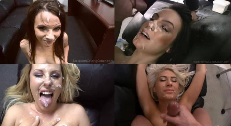 Compilation - Blowjob Facials (POV / Handjob / Bukkake) [HD] - BackroomCastingCouch.com