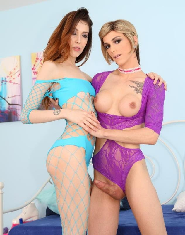 Jenna Justine, Nina Lawless - TS Playground 21 (Shemale / Transsexual) [HD] - EvilAngel.com
