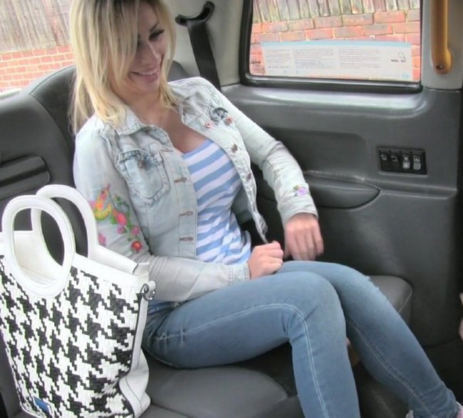Chessie Kay - Petite blonde with big tits gets down and dirty (Cum in Mouth / Swallow) [HD] - FakeTaxi.com/FakeHub.com
