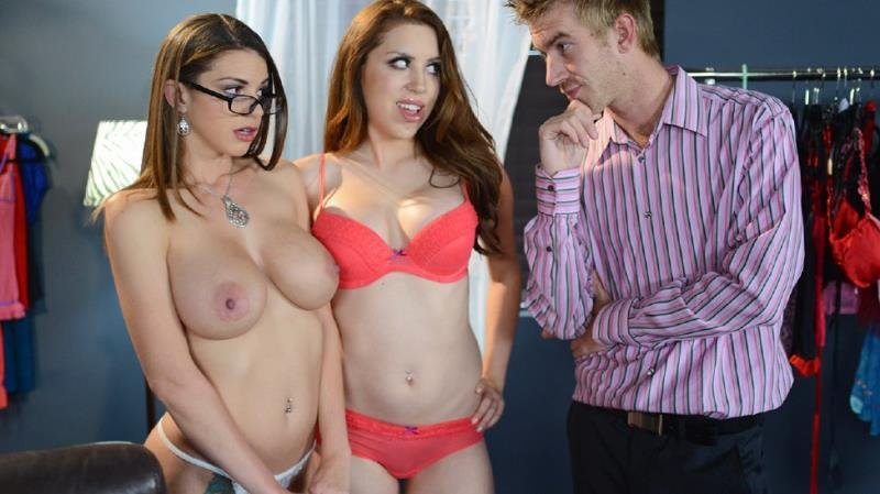 Brooklyn Chase - Practice For Young Girls (Big Tits / Ass Worship) [SD 480p] - BigTitsAtWork.com/Brazzers.com