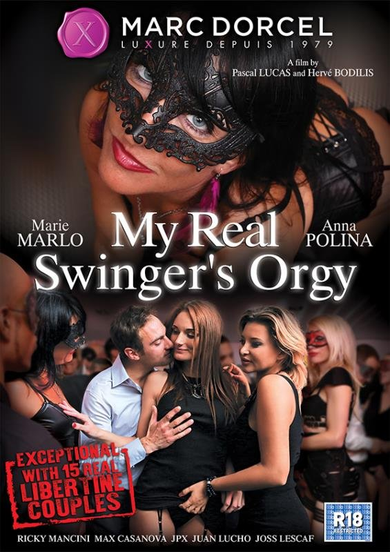 Anna Polina, Marie Marlo - My Real Swingers Orgy (All Sex / Orgy) [WEBRip/SD 540p] - Marc Dorcel