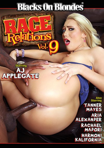 AJ Applegate, Aria Alexander, Harmoni Kalifornia, Rachael Madori, Tanner Mayes - Race Relations 9 (Interracial / Big Dicks) [WEBRip/SD 432p] - Blacks On Blondes