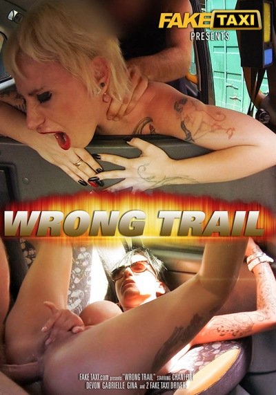 Chantelle, Devon, Gabrielle, Gina - Wrong Trail (Amateur / Public Sex) [WEBRip/SD 480p] - Fake Taxi