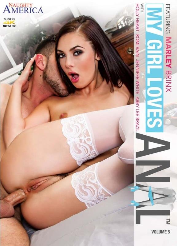 Abby Lee Brazil, Jennifer White, Marley Brinx, Romi Rain, Holly Heart - My Girl Loves Anal 5 (Anal / Gonzo) [WEBRip/SD 480p] - Naughty America