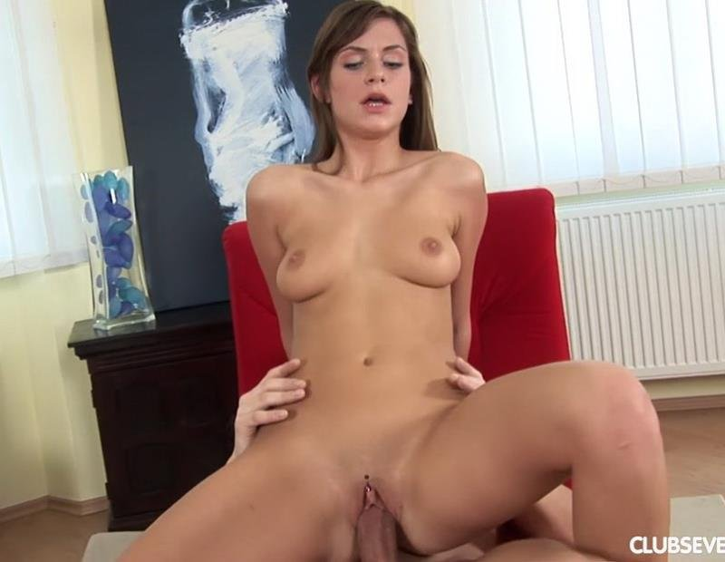Sara A - Slutty Sara Knows How To Handle A Cock (Teen / Hardcore) [HD] - ClubSevenTeen.com