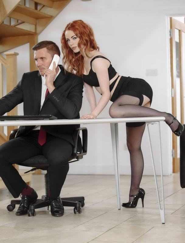 Ella Hughes - Stress Relief (All sex / Hardcore) [FullHD] - OfficeObsession.com