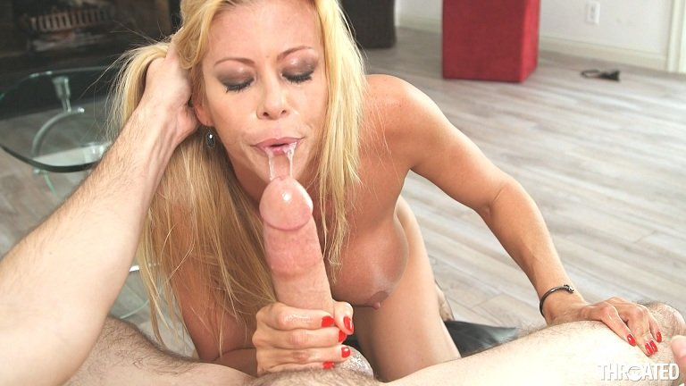 Alexis Fawx - Ball Licking (Big Tits / MILF) [FullHD 1080p] - Throated.com