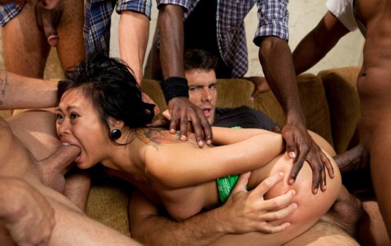 Krissie Dee - The Pledge: Sorority Initiation Featuring Krissie Dees First Gangbang (BDSM / Gang Bang) [HD] - BoundGangBangs.com/Kink.com