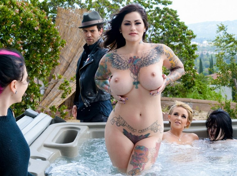 Joanna Angel, Juliana Rose - Juliana Rose First Time (Big Tits / Punk Girl) [SD] - BurningAngel.com