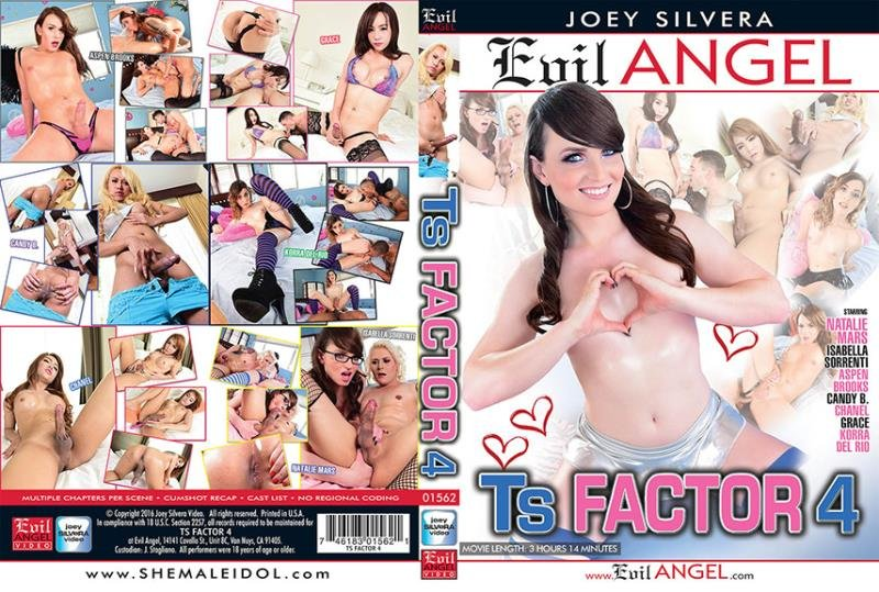 Aspen Brooks, Candy B, Chanel D, Grace, Isabella Sorrenti, Johnny UK, Korra Del Rio - TS Factor 4 (Transsexual / Anal) [WEBRip/SD 540p] - Evil Angel