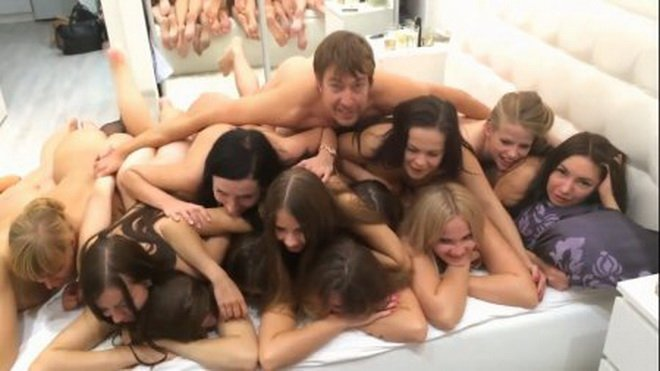 Amateurs - Group Sex At The Party (Homemade / Russian) [HD] - Cam4.com