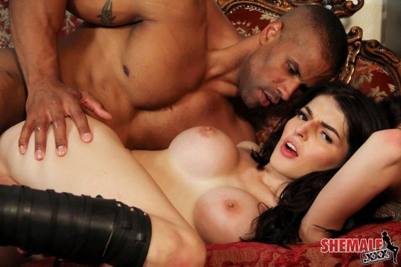 Vixxen Goddess - Vixxen Goddess Gets Fucked Hard! (Transsexual / Anal) [HD 720p] - Shemale.xxx