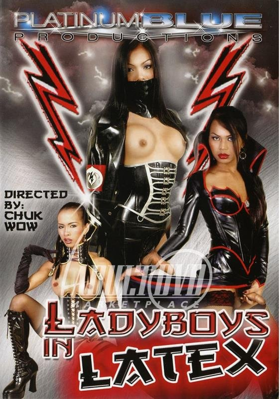 Cindy, Jenny, Cat, Joon, Lyn, Loogate - Ladyboys in Latex (Transsexual / Anal) [DVDRip 384p] - Platinum Blue Productions