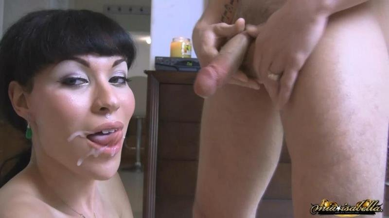 Mia Isabella - Cum on my Face (Transsexual / Anal) [HD 720p] - Mia-Isabella.com