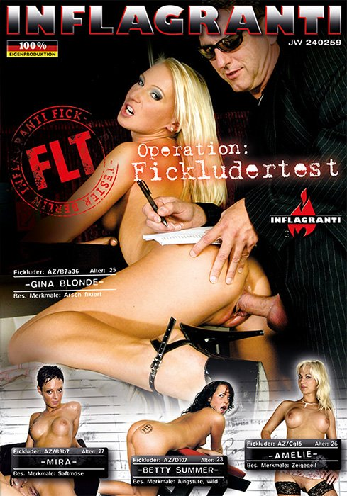 Gina Blonde, Mira, Betty Summer, Amelie, Jean Pallett, Markus Waxenegger - Operation: Fickludertest (Gonzo / All Sex) [DVDRip 394p] - Inflagranti Film