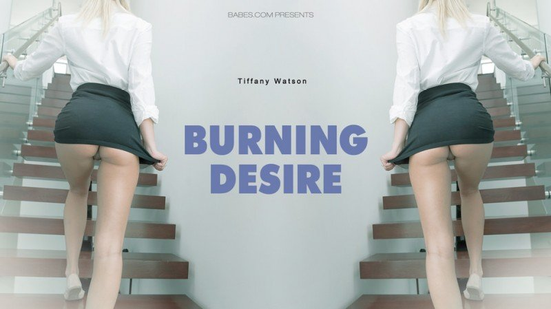Tiffany Watson - Burning Desire (Blonde / Interracial) [HD 720p] - Babes.com