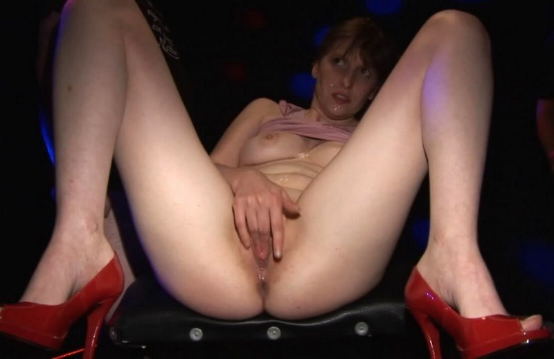 Sandra666 - Sandra666 in Black Studio (Bukkake / Germany) [HD 720p] - Sperma-Studio.com