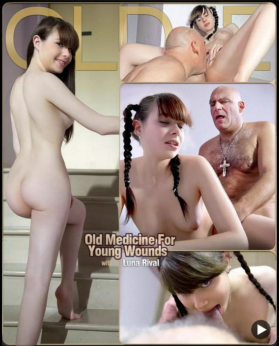 Luna Rival - Old Medicine For Young Wounds (Oldman / Young girl) [FullHD 1080p] - ClassMedia.com