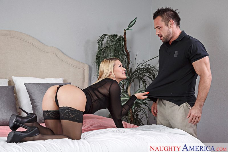 Abby Cross - Abby Cross.mp4 (Blonde / Natural Tits) [SD] - DirtyWivesClub.com