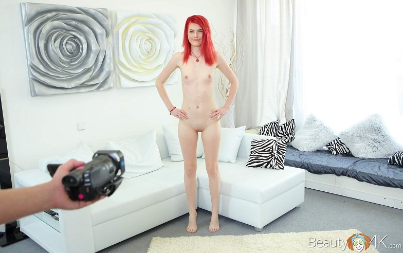 Anna Swix - Interview With A Redhead (Legal Teen / Hardcore) [HD 720p] - TeenMegaWorld.net