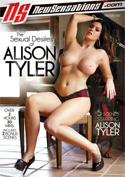 Alison Tyler - The Sexual Desires Of Alison Tyler (Big Boobs / Gonzo) [WEBRip/SD 540p] - New Sensations