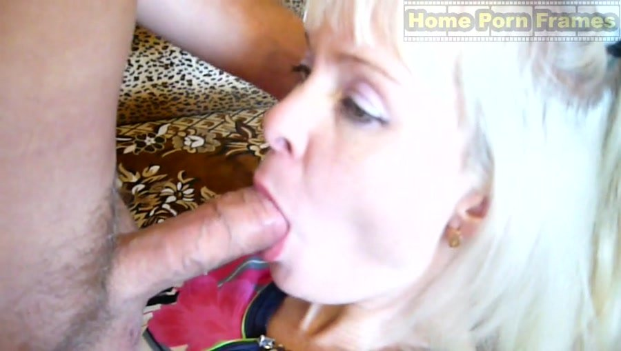 Nina - Natural blonde hairy pussy mature wife hardcore video with creampie (Amateur / All sex) [SD] - HomePornFrames.com