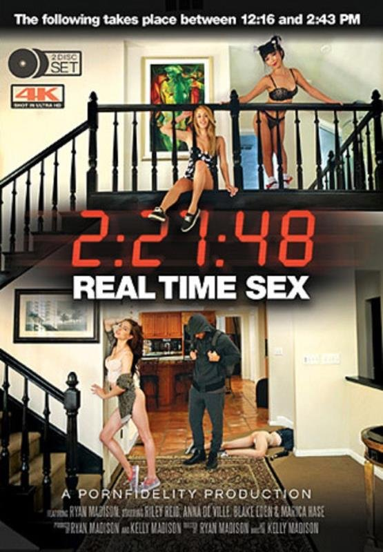 Ryan Madison, Riley Reid, Anna De Ville, Blake Eden, Marica Hase - Real Time Sex (All Sex / Gonzo) [WEBRip/SD 360p] - Teen Fidelity