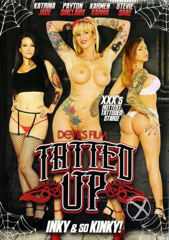Katrina Jade, Payton Sinclaire, Karmen Karma, Stevie Shae - Tatted Up (All Sex / Fetish) [WEBRip/SD 480p] - Devils Films