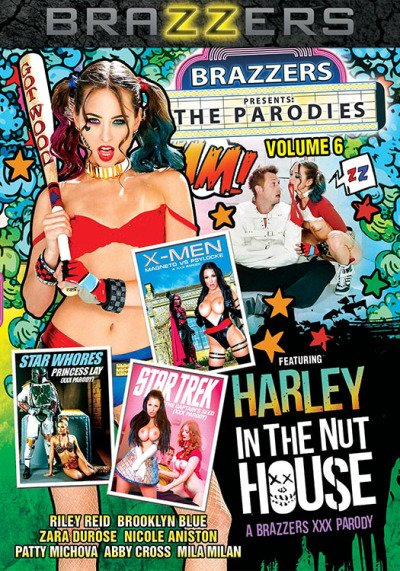 Abby Cross, Brooklyn Blue, Mila Milan, Nicole Aniston, Patty Michova - The Parodies 6 (Feature / Parody) [WEBRip/SD 480p] - Brazzers