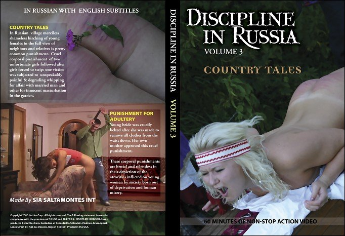 Girls - Discipline In Russia Volume #3 - Punishment for Adultery (BDSM / Spanking) [SD] - Russian-discipline.com