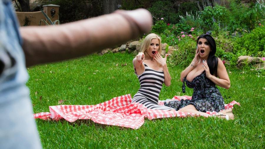 Alexis Fawx, Romi Rain - Pervert In The Park (MILF / Threesome) [SD] - MilfsLikeItBig.com