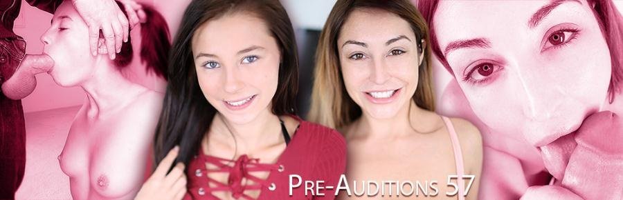 Christiana Cinn, Carolina Sweets - Pre-Auditions 57 (Deep Throat / POV) [SiteRip] - AmateurAllure.com