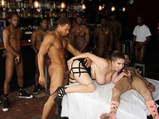 Alex Chance - GangBang (Anal / IR) [SD] - DogFartNetwork.com