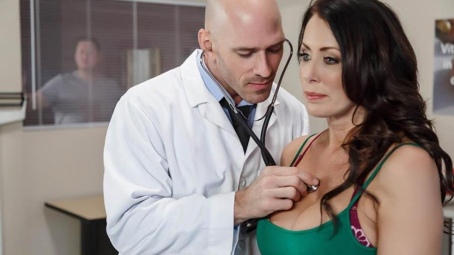 Reagan Foxx - My Husband Is Right Outside (Doctor / MILF) [SD] - DoctorAdventures.com