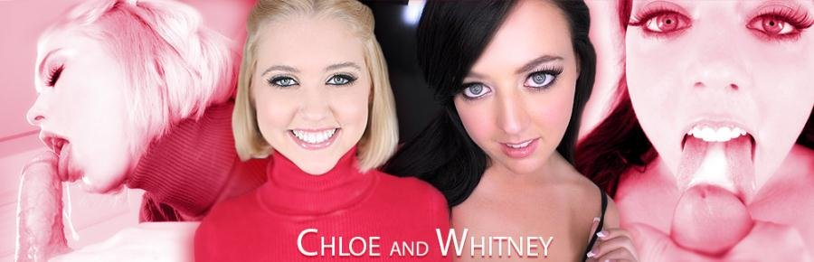 Whitney Wright, Chloe Couture - Whitney and Chloe (Blowjob / POV) [SD] - AmateurAllure.com