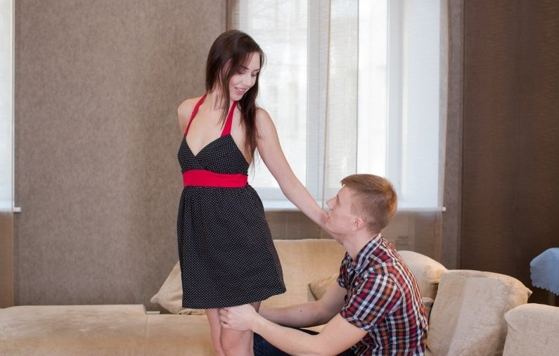 Lily Cat - Come In from the Cold (Teen / Brunette) [SD] - TeenBitchClub.com